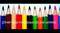 Sinterklaaskleurplaat actie